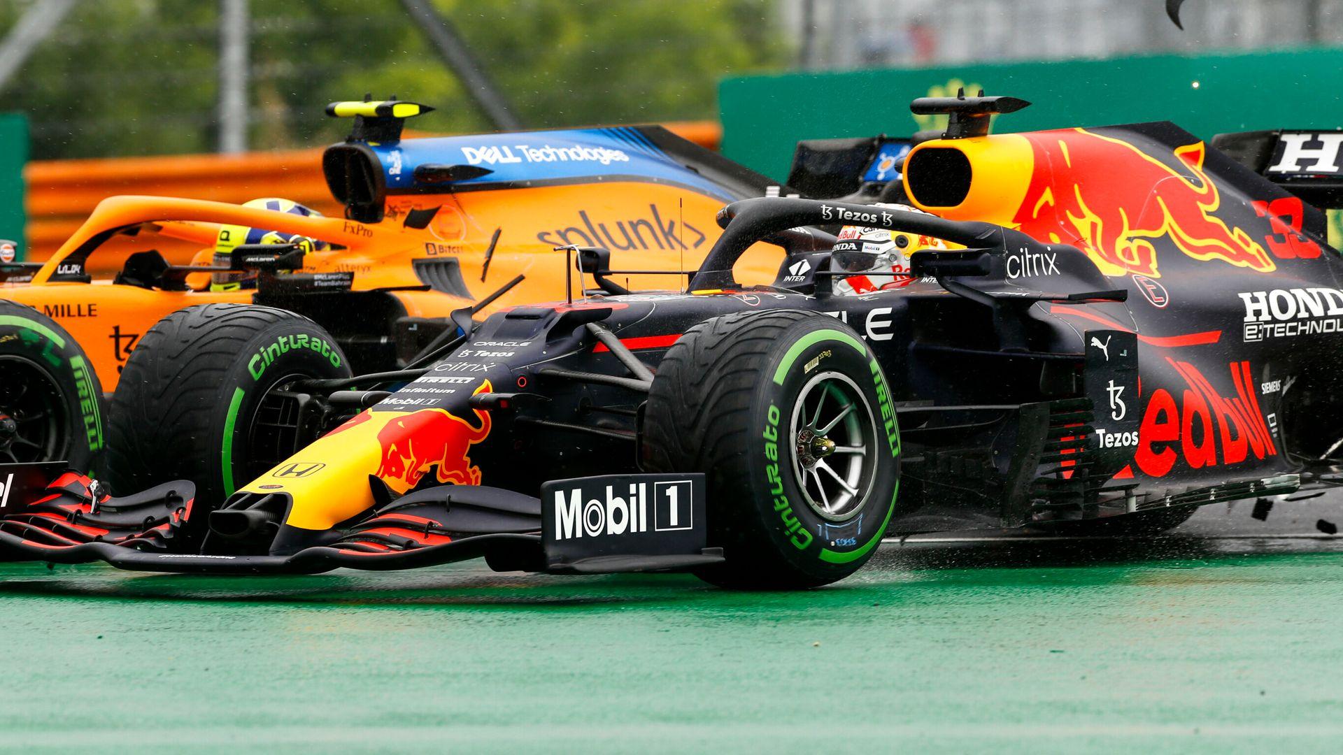 Red Bull reflect on 'brutal' chaos | Merc sorry for Bottas shunt