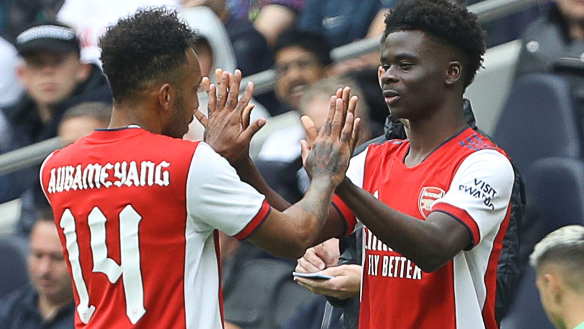 Saka applauded by Spurs fans; Nuno hopeful of Kane talks