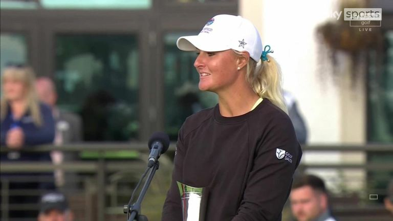 Anna Nordqvist reflects on securing a third major title and ending her four-year winless run with a 'dream' victory in the AIG Women's Open at Carnoustie