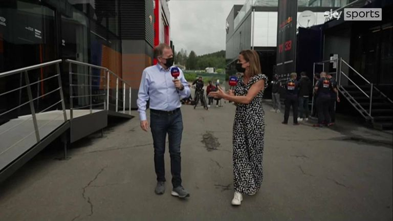 Natalie Pinkham and Martin Brundle look ahead to this weekend's Belgian Grand Prix from Spa.