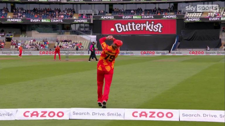 Birmingham Phoenix dropped four catches on their way to defeat against Oval Invincibles, including one which was palmed for a six on the boundary!