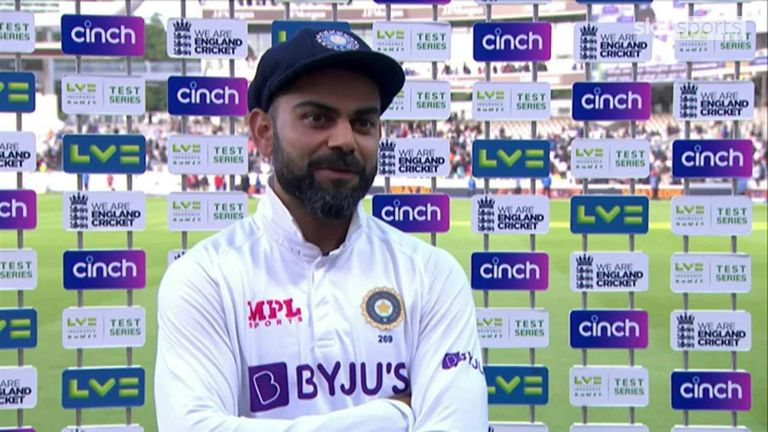 India captain Virat Kohli says the tension on the field gave his India team extra impetus as they secured a sensational victory at Lord's