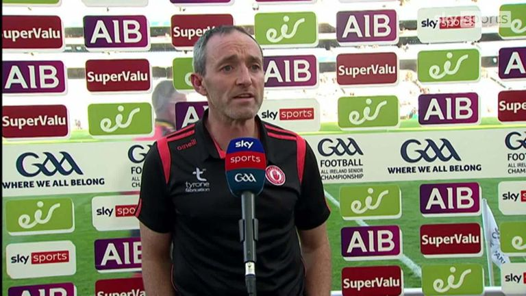 Dooher hailed Tyrone's 'enormous shift'