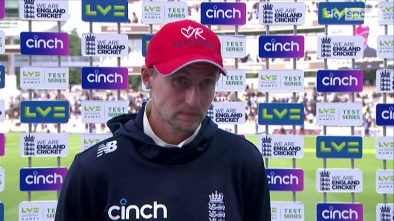 England captain Joe Root says he takes responsibility for the team's defeat to India in the second Test at Lord's