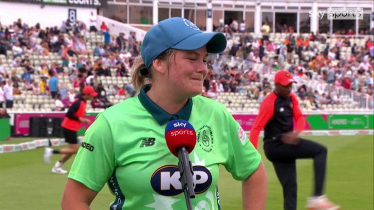 Oval Invincibles captain Dane van Niekerk hit an unbeaten 67 to guide her team to victory over Birmingham Phoenix.