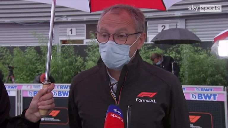F1 boss Stefano Domenicali believes that the right calls were made during the Belgian GP washout