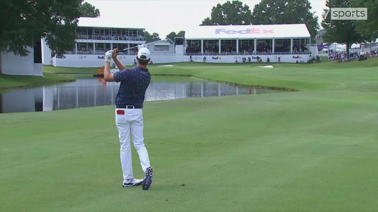 A look back at the best of the action from a low scoring WGC-FedEx St. Jude Invitational at TPC Southwind in Memphis, Tennessee.
