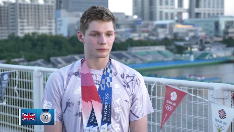 Team GB swimmer Duncan Scott says he is looking forward to reflecting on his and Great Britain's success in the pool in Tokyo.