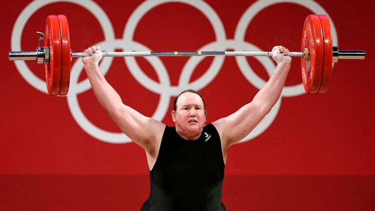 Laurel Hubbard, a trans woman, represented New Zealand in the weightlifting competition at the Tokyo Olympics