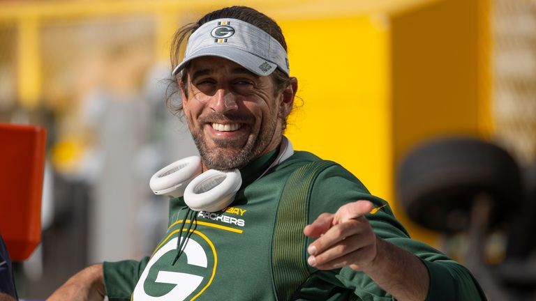 Rodgers returned to training camp