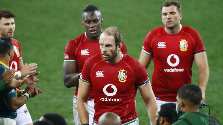 Jones and the Lions were unable to build on victory in the first Test