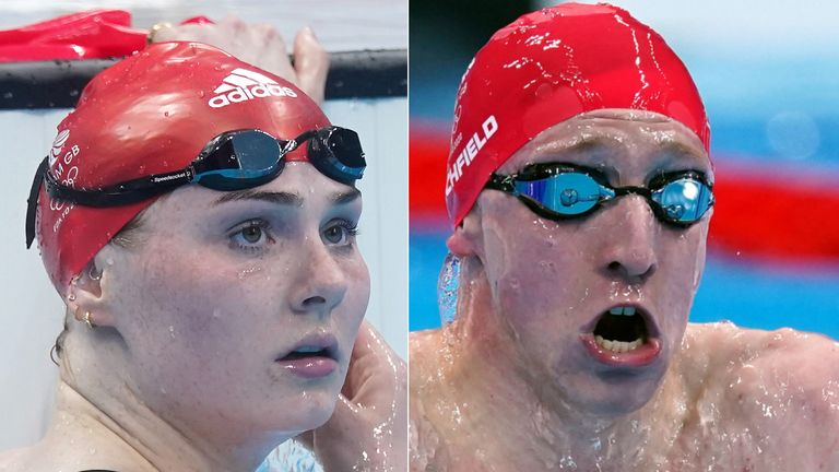 Freya Anderson and Max Litchfield experienced an emotional Olympics in Tokyo