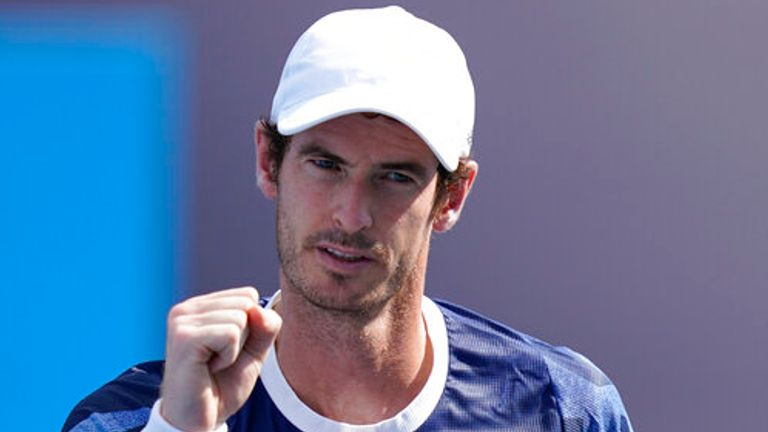 Former world No 1 Murray said earlier this week he does not expect a deep run in New York