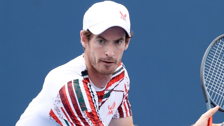Andy Murray was encouraged by his performances in Cincinnati as he prepares for the US Open at the end of August