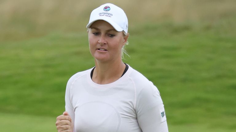 Nordqvist is bidding for her third major victory