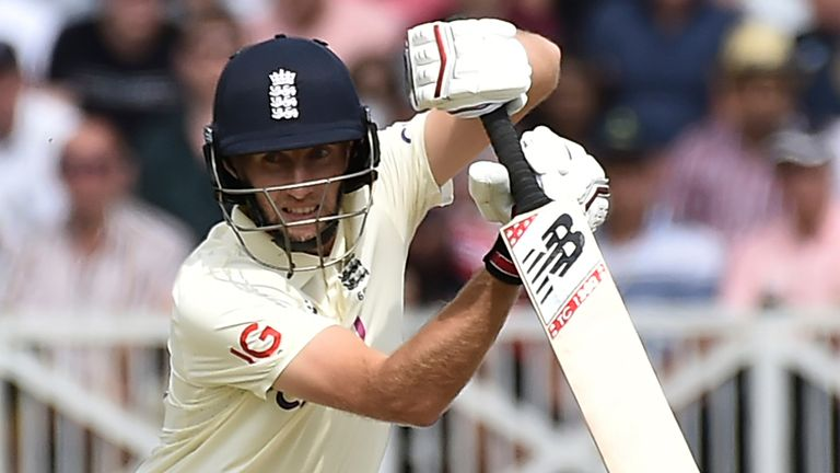 Root hit his 50th Test half-century but no other England batsman reached 30