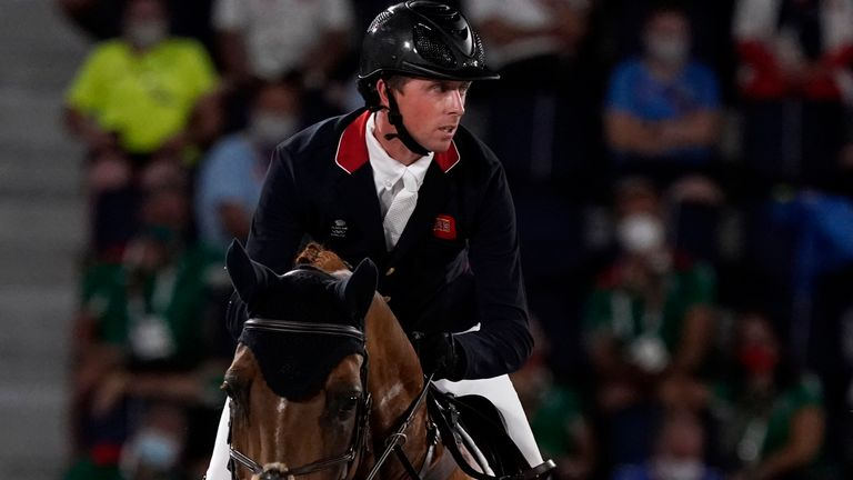 Ben Maher secured his second gold Olympic medal following his win in the team showjumping at London 2012