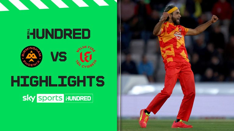 A brilliant innings from Moeen Ali and Will Smeed plus a hat-trick from Imran Tahir saw the Birmingham Phoenix beat the Welsh Fire.
