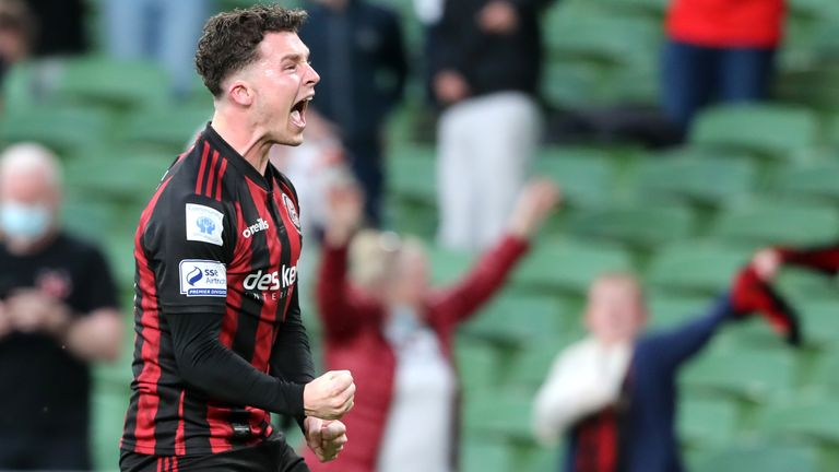 Bohs pulled off a major upset on Tuesday night