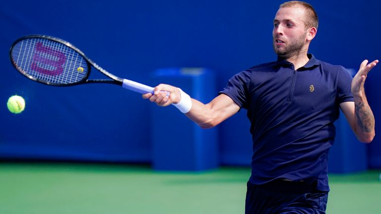 Evans will now travel to New York for the US Open, which begins on Monday