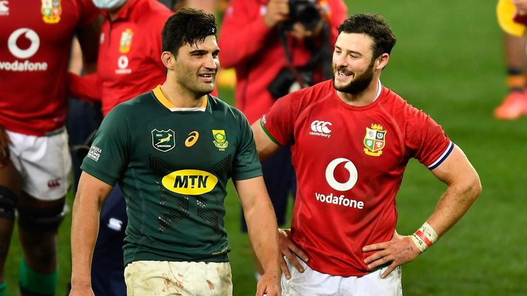 De Allende has been a key man for the Springboks so far in terms of making ground
