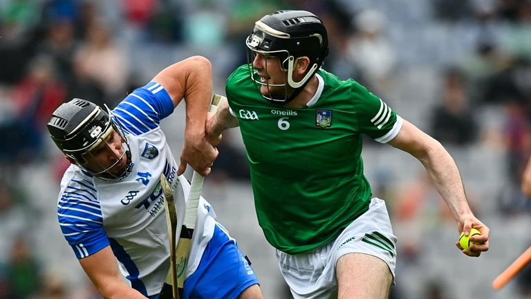 Declan Hannon anchors the Limerick defence