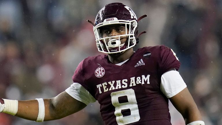DeMarvin Leal will be a standout on the Texas A&M defense (AP)