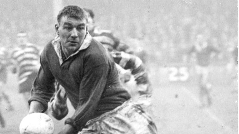 Rugby League great Dick Huddart has passed away, aged 85 (photo courtesy of Saints Heritage Society)