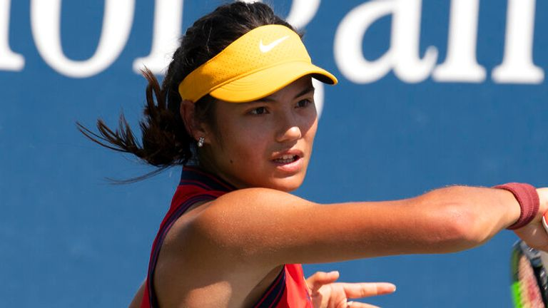 Emma Raducanu is one win away from the main draw of the US Open (Cesarin Mateo/USTA)