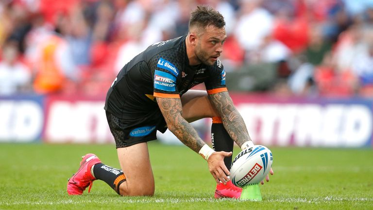 O'Brien helped Castleford reach the Challenge Cup final earlier this year
