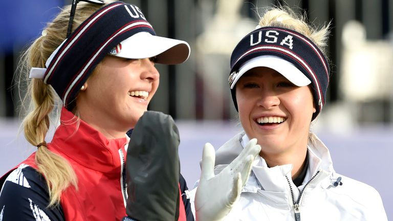 The Korda sisters, Jessica and Nelly, will both feature for Team USA at the Solheim Cup