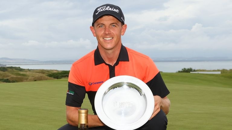 Grant Forrest won his maiden European Tour title
