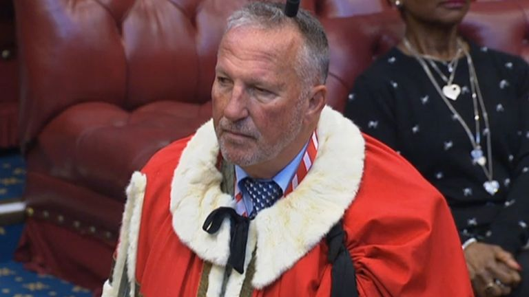 Ian Botham is a peer in the House of Lords