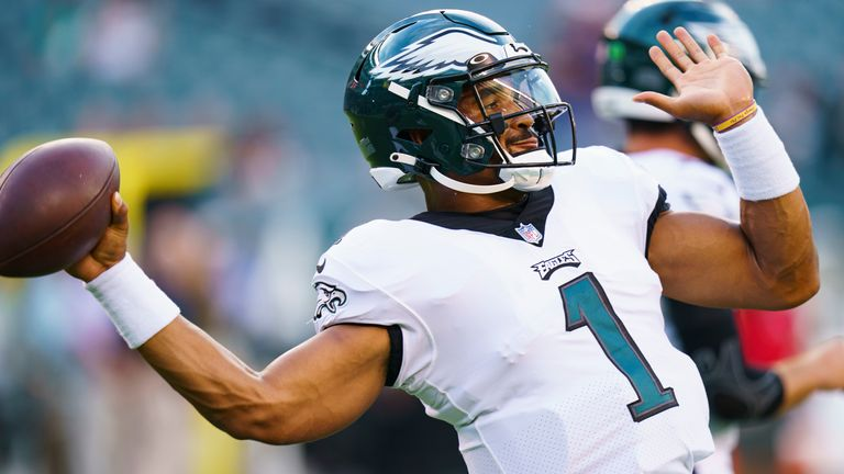 Jalen Hurts is entering his first season as starter in Philly (AP)