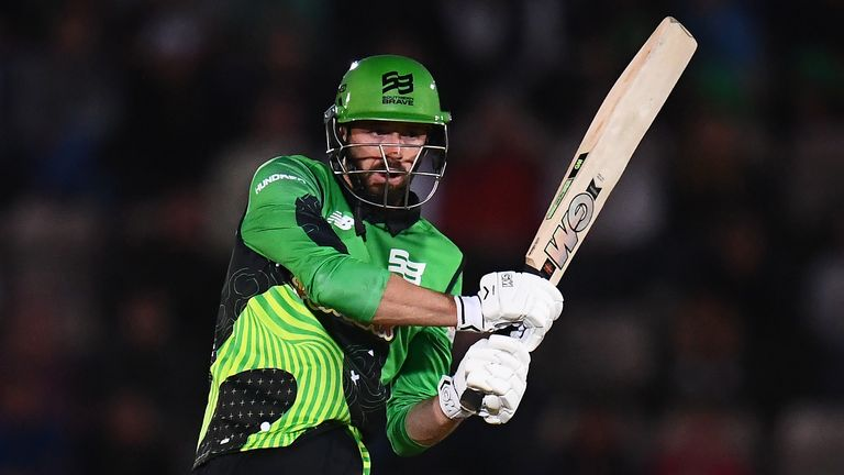 Southern Brave captain James Vince goes on the offensive