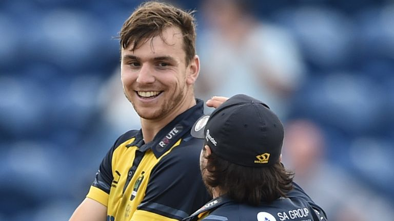 Cooke took five wickets in Essex's 289 all out