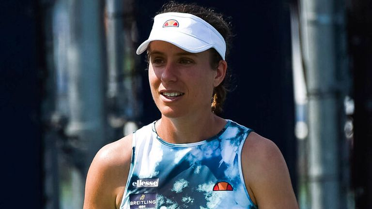 Johanna Konta contracted the virus to miss the Olympic Games in Tokyo (Photo by David Kirouac/Icon Sportswire)
