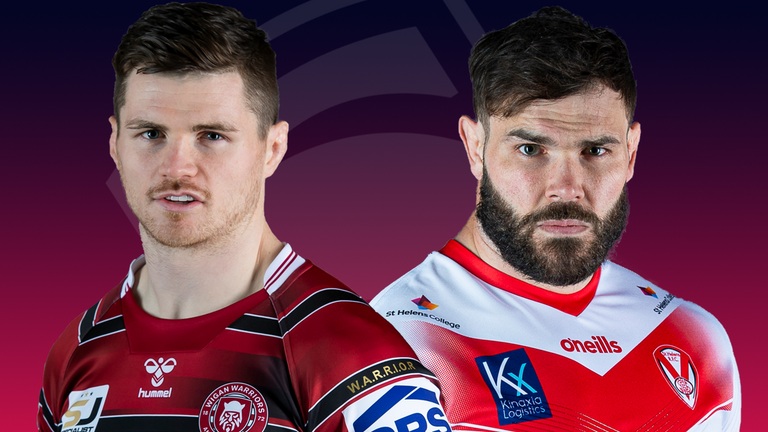 It's derby night on Friday as Wigan and St Helens face off in Super League