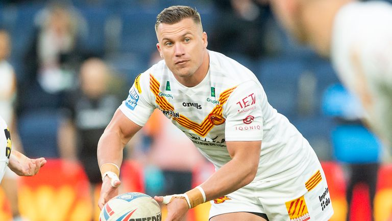 Josh Drinkwater has been starring for Catalans during their rise to the top of Super League