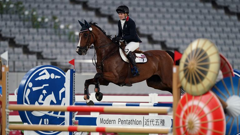 French went clear in the showjumping