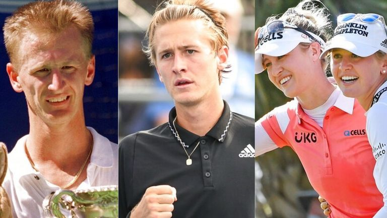 It must be difficult trying to keep up with the Kordas - Petr, Sebi, Nelly and Jessica are the first family of sport