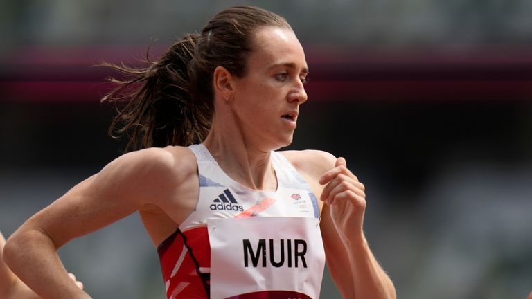 Laura Muir chose to focus solely on the 1500m at the Games as opposed to doing the 800m and 1500m double