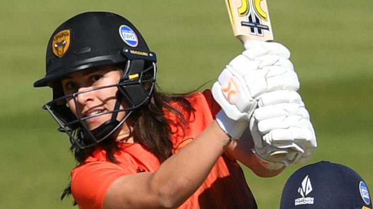 Maia Bouchier's impressive form for Southern Vipers has contributed to her first England call-up