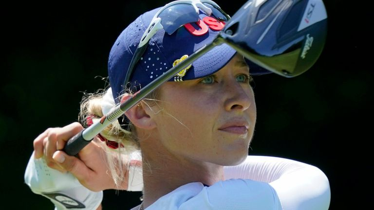 Nelly Korda returns to action in New Jersey