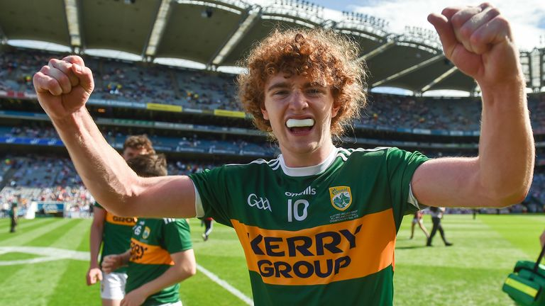 Walsh won an All-Ireland minor title with Kerry in 2018
