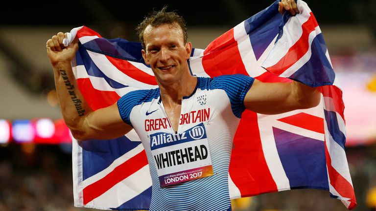 Paralympic runner Richard Whitehead hopes to inspire long-term change