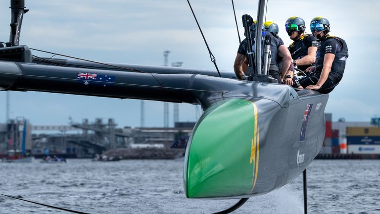 Australia's SailGP team backed up their victory in Plymouth with another event win (Image credit - Ian Roman for SailGP)