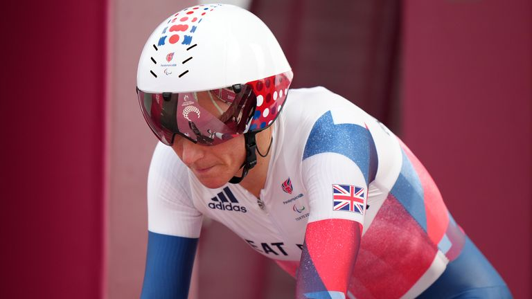 Tokyo Paralympic Games: Sarah Storey equals Mike Kenny's gold in Great Britain with victory in women's C5 time trial    Olympic Games News
