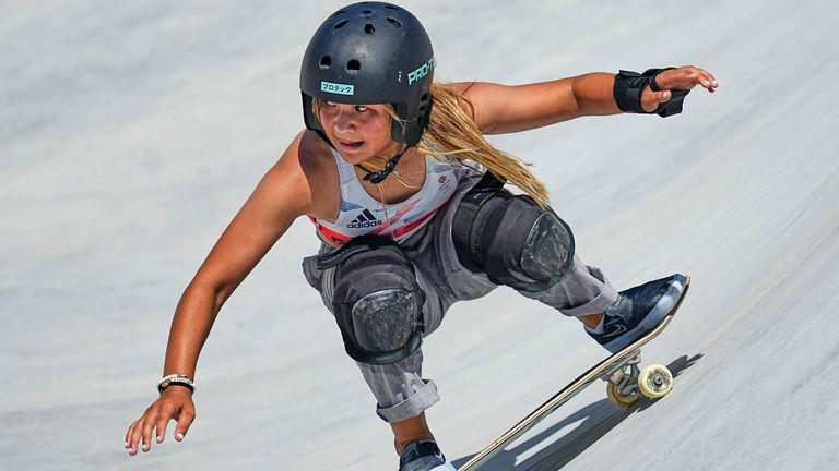 Sky Brown says she hopes to represent Team GB in surfing as well as skateboarding in the future, after she won bronze to claim Britain's first ever skateboarding medal