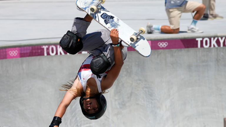 Brown triumphed at the X Games, one of the major events building up to the Olympics